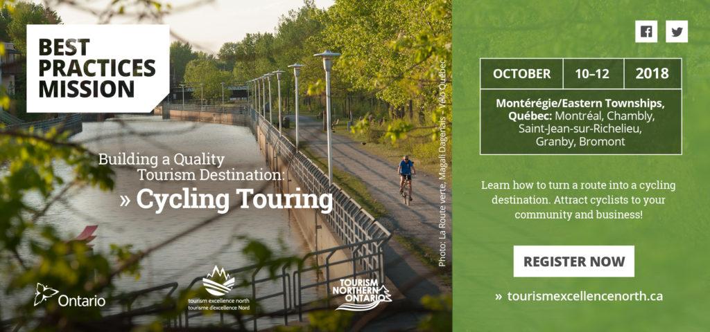 Best Practices Mission Trip: Building a Quality Tourism Destination – Cycling Touring